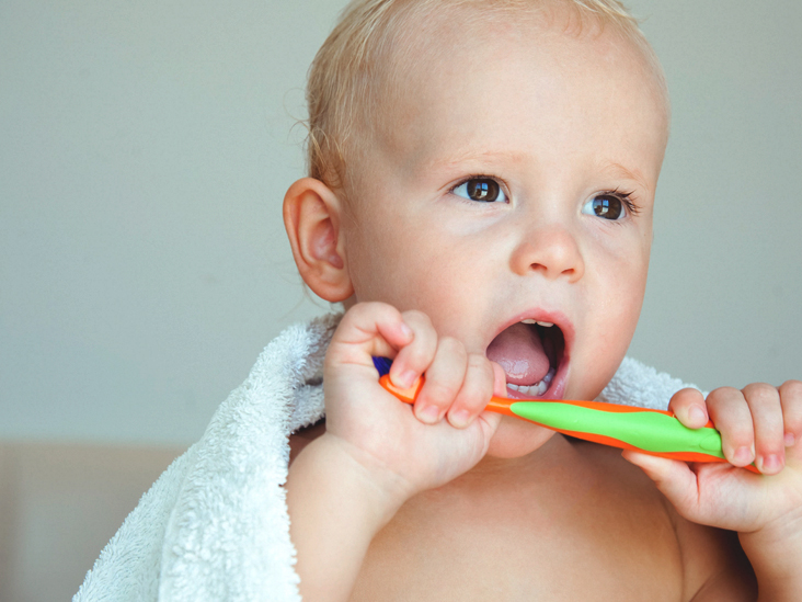 explain how to effectively care for childrens teeth