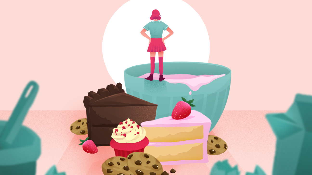 baking for anxiety