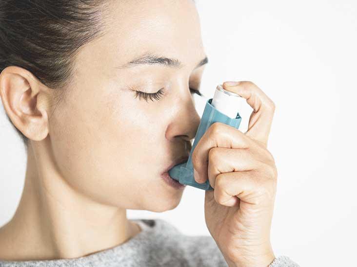 Using inhaler too much