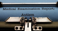 autism medical exam report