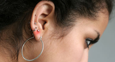 How To Treat An Infected Ear Piercing