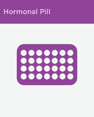 hormonal pill