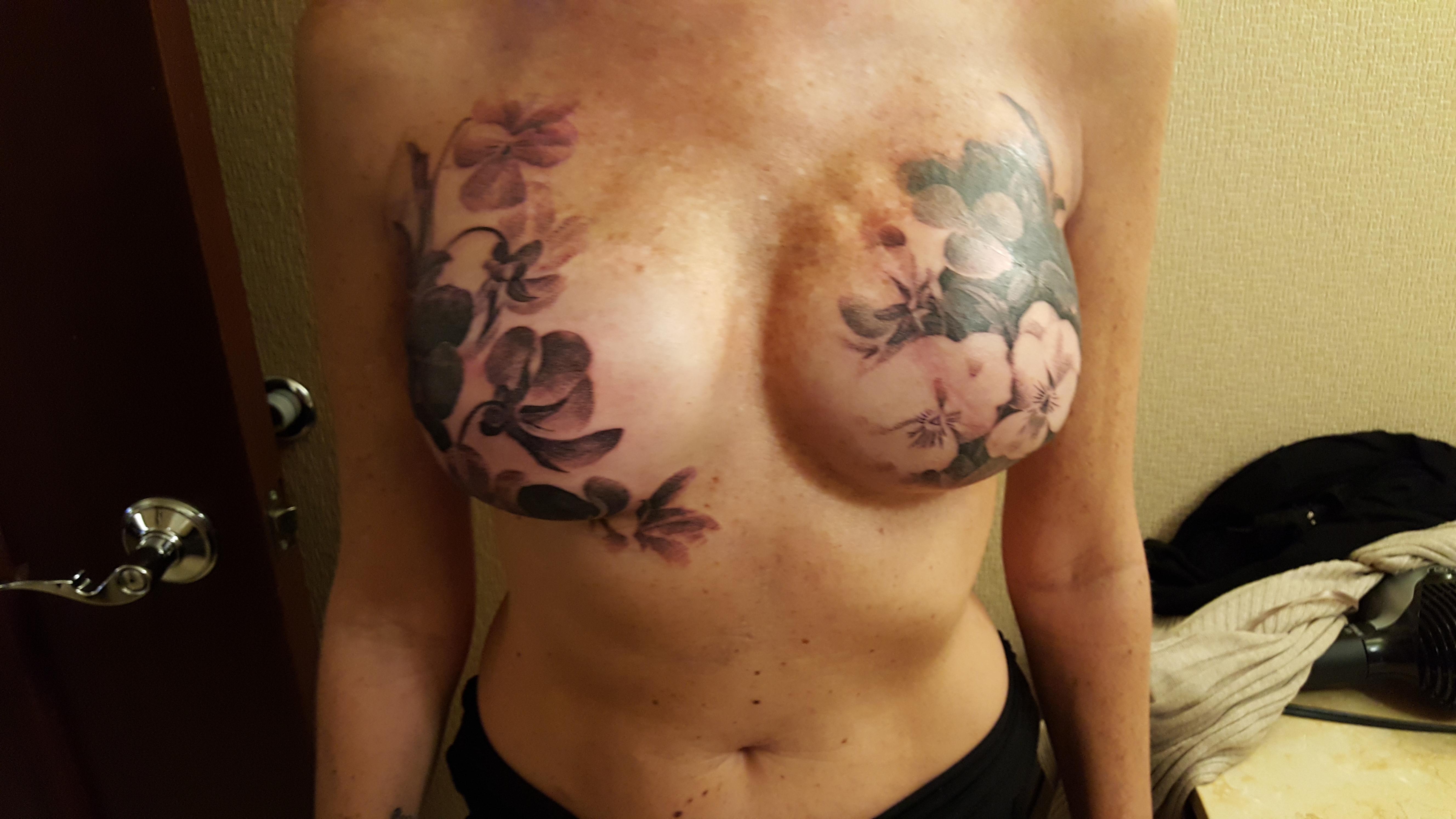 Show us your mastectomy tattoos for Tattooed nipples after reconstruction