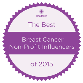 'The Best Breast Cancer Nonprofit Influencers of 2015' from the web at 'http://www.healthline.com/hlcmsresource/images/topic_centers/BreastCancer-1/best-breast-cancer-non-profit-influencers-285x285.png'