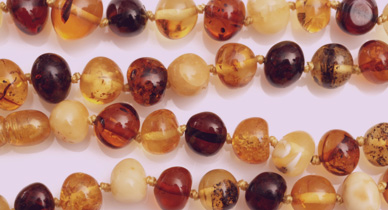 What Are Amber Teething Necklaces and Are They Safe?