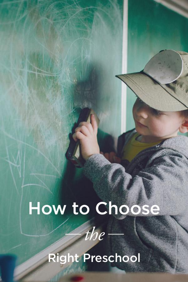 12 Signs of a Good Preschool