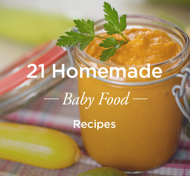 Baby Food For  Months Recipe