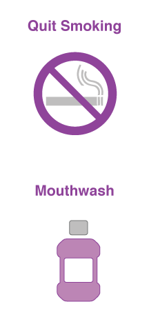 quit smoking and mouthwash