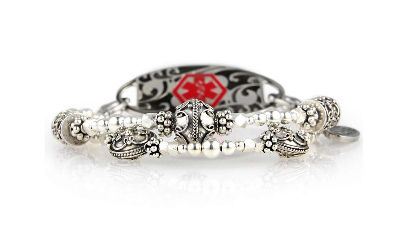 Queen Elizabeth Medical Id Bracelet