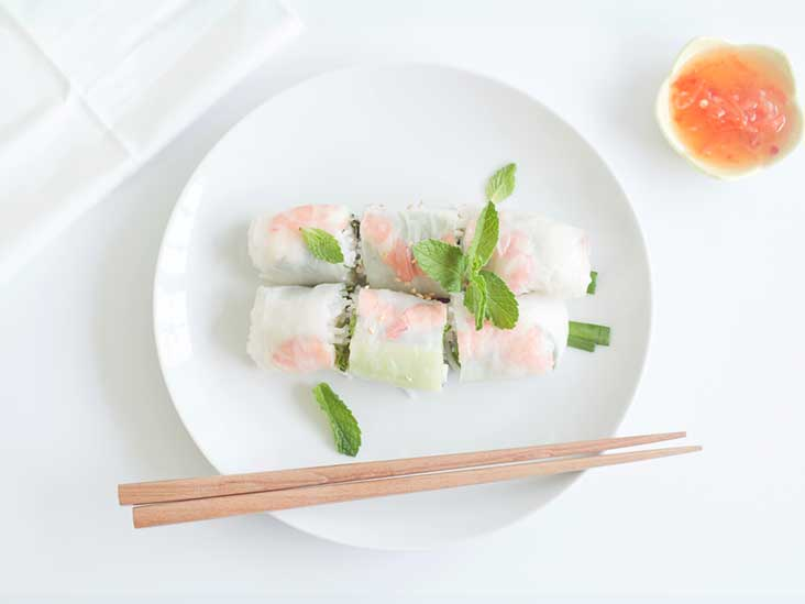 3 Diabetes-Friendly Spring Rolls for Springing Ahead