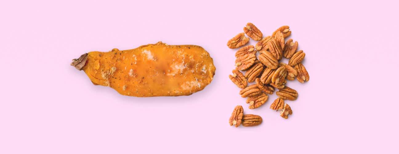 sweet potato and pecan