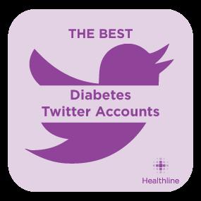 Diabetes Twitter Badge