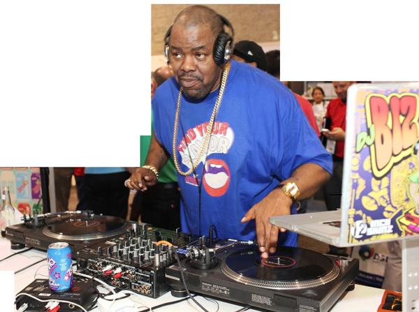 Biz Markie DJ'ing