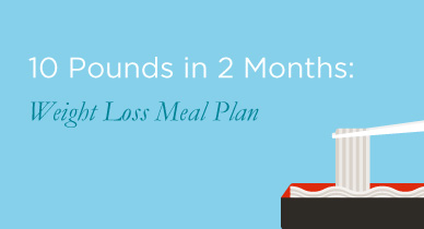 2 month weight loss food plan