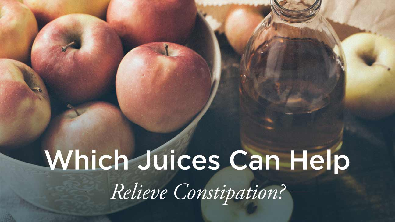 Does apple juice cause constipation?