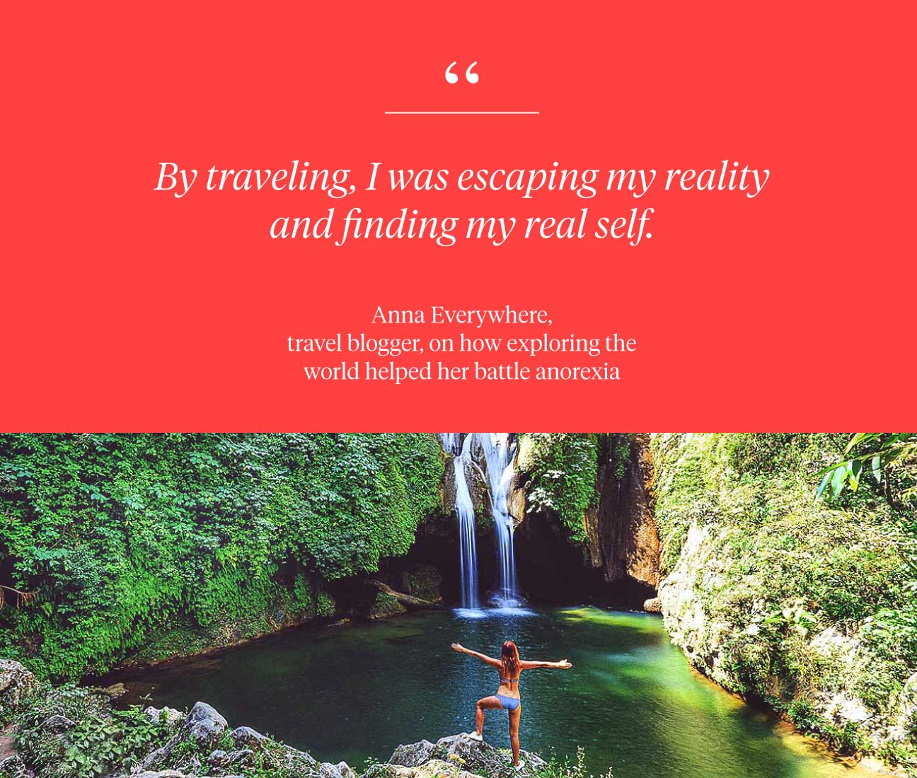 escaping reality and finding my real self