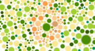 Color blindness color graphic