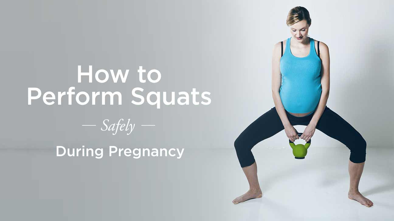 5 Ways to Perform Squats Safely During Pregnancy