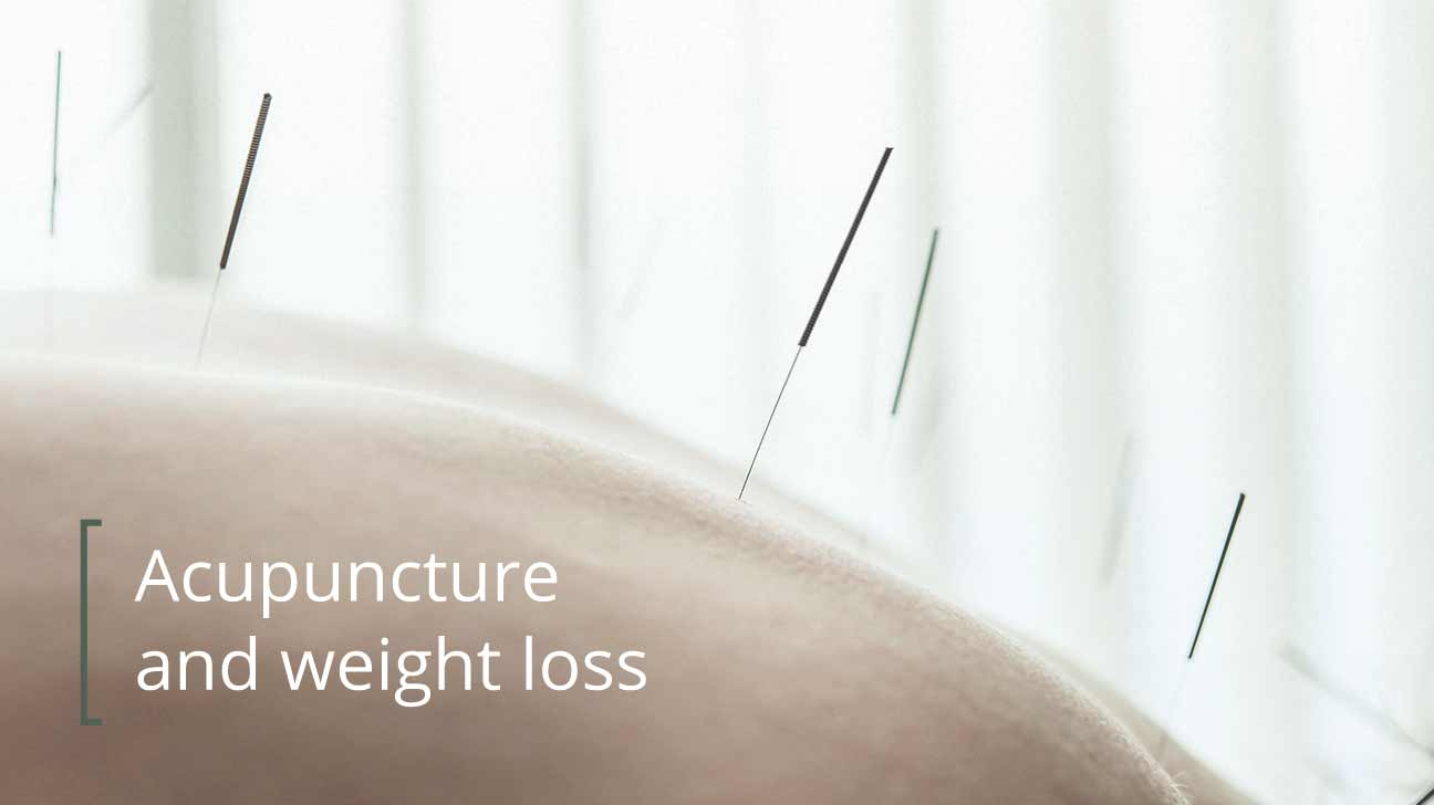 how to lose weight with acupuncture