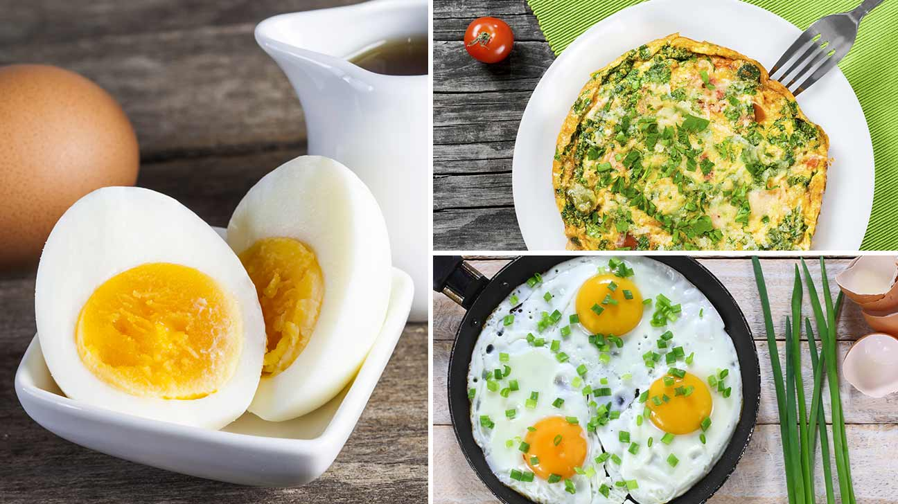 Eggs May Be Cooked Many Diffe Ways You Can Boil Them In Their S To Make A Hard Boiled Egg Fry An Omelet Frittata