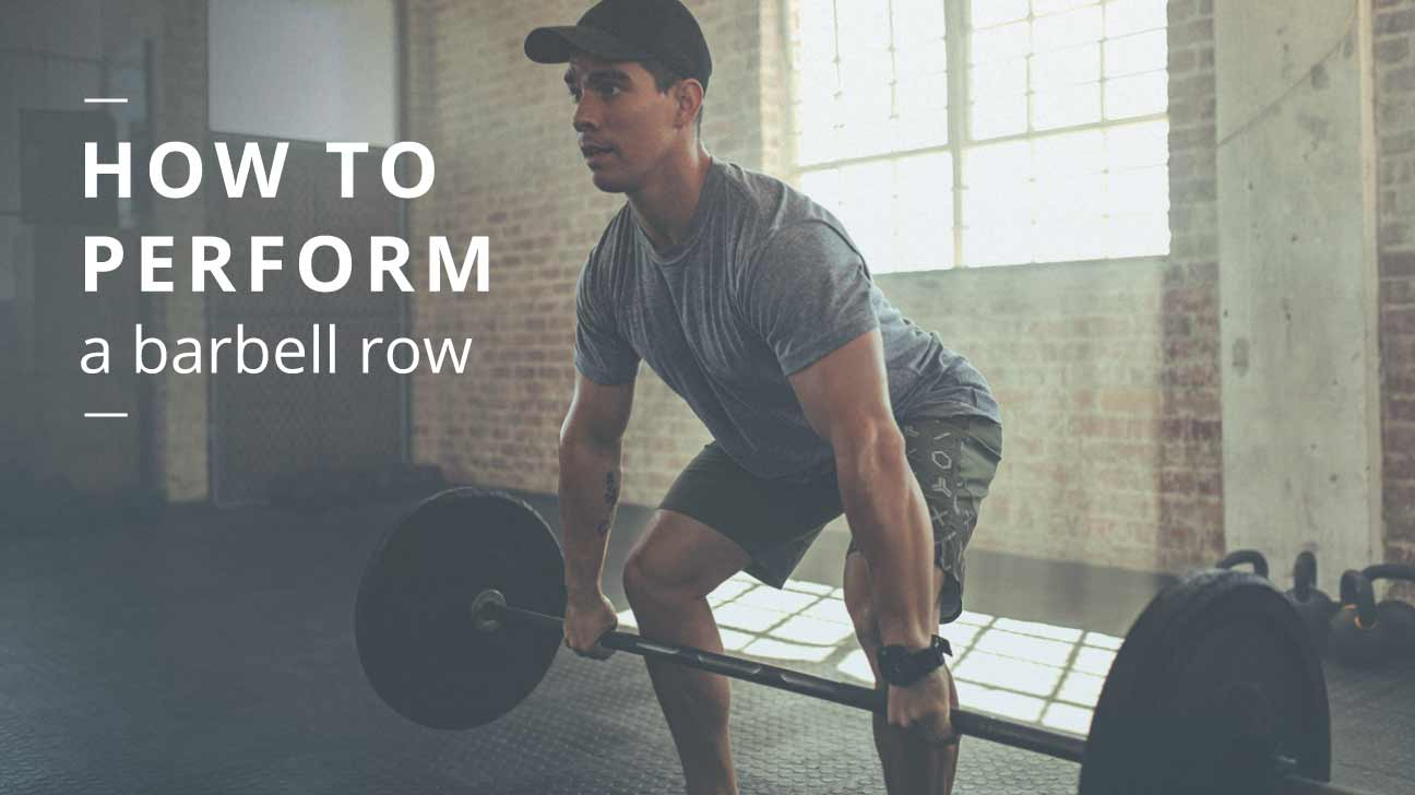 barbell row form