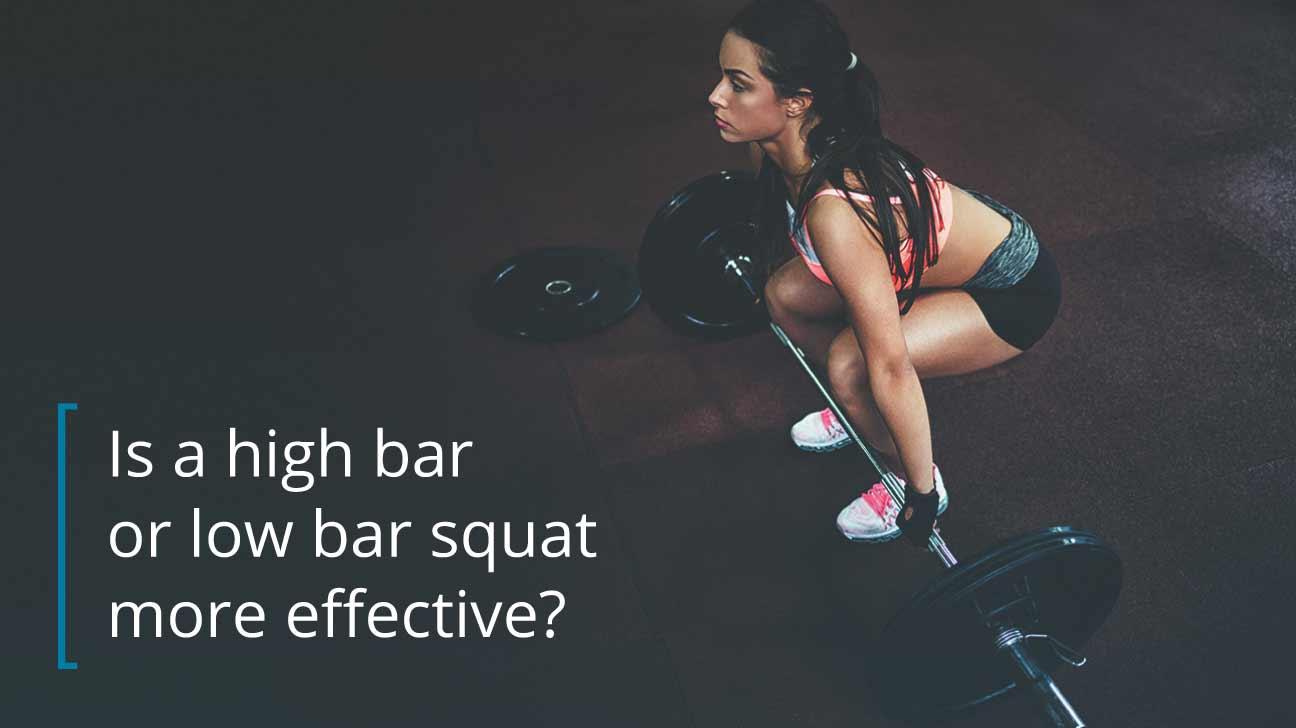 High Bar vs. Low Bar Squat
