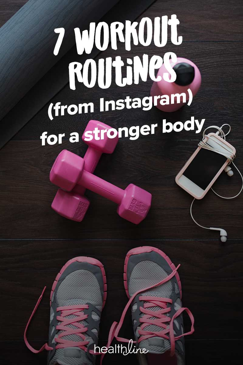 7 Instagram Workout Routines To Do At The Gym