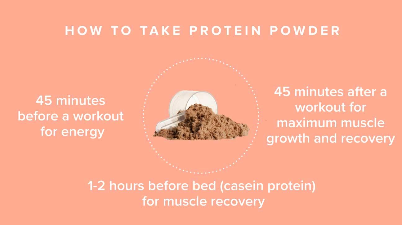 how to take protein powder