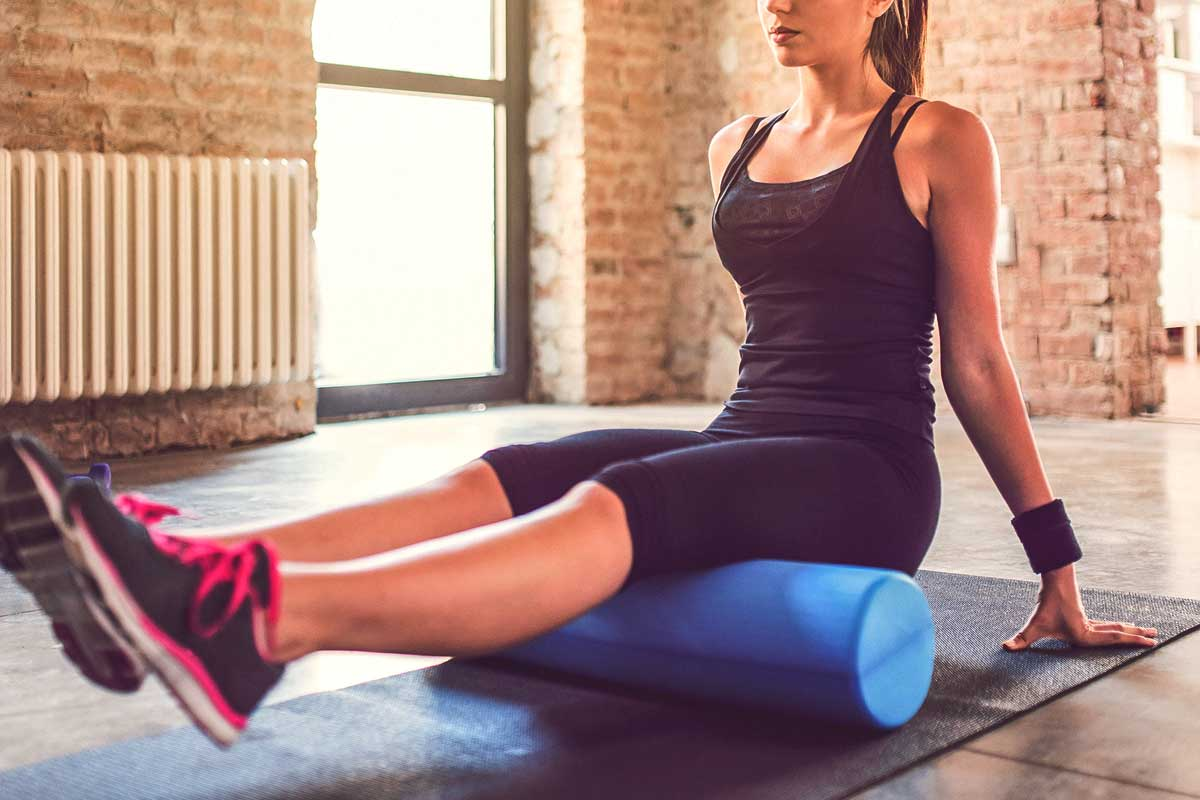 5 Easy Foam Roller Stretches To Help Muscle Pain Soreness May Slow You Down During Your Next Workout Reduce Discomfort Use A
