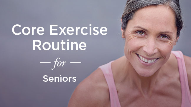 Abdominal Exercises for Seniors