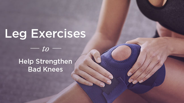Exercises To Build Leg Muscles With Bad Knees