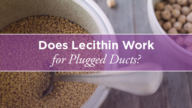 Using Lecithin