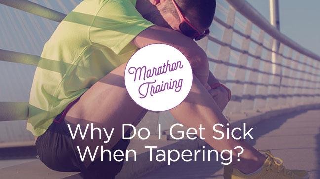 sick marathon runner