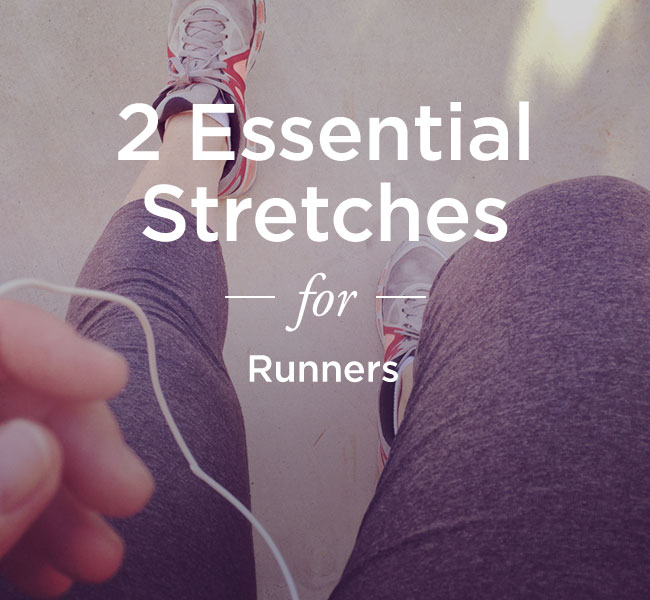 running groin stretches