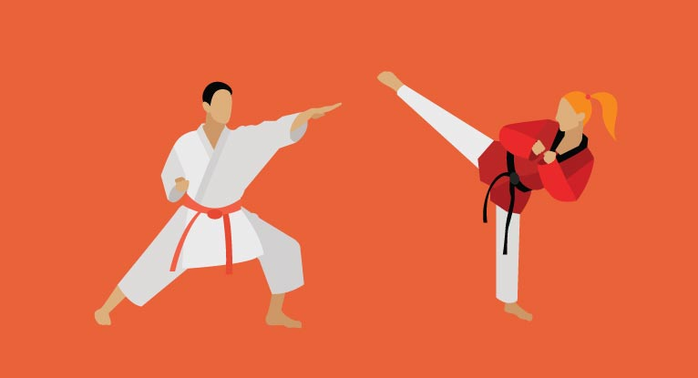 Karate vs. Taekwondo: What's the Difference?