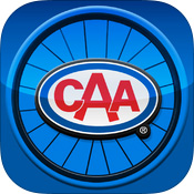CAA Bike Safety App logo