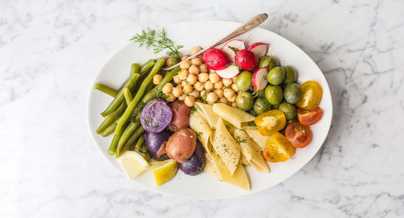 Vegetarian Summer Pasta Salad