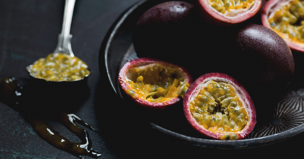 Allergy reaction to passion fruit juice