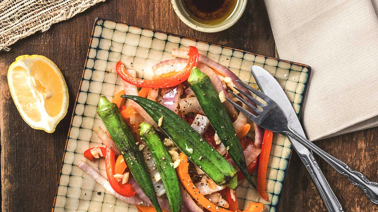 healthy okra recipes
