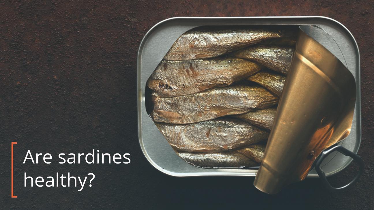 Tin of sardines