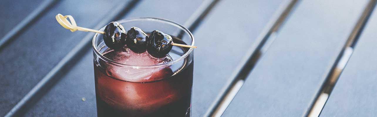 Cherry blackberry smash