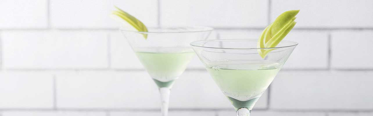Green tea martini
