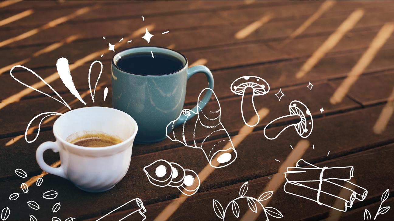 add vitamin to coffee