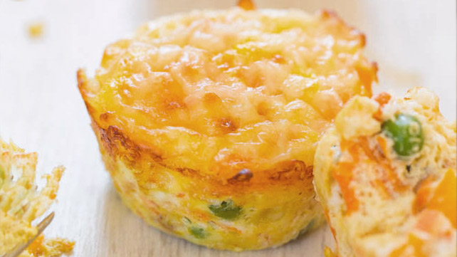 veggie and egg muffins