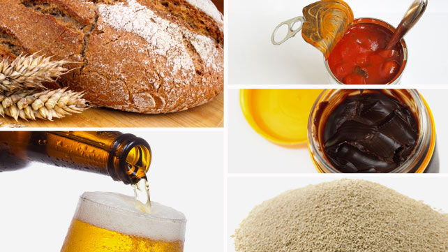 food items with yeast extract