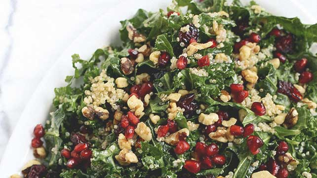 winter kale quinoa