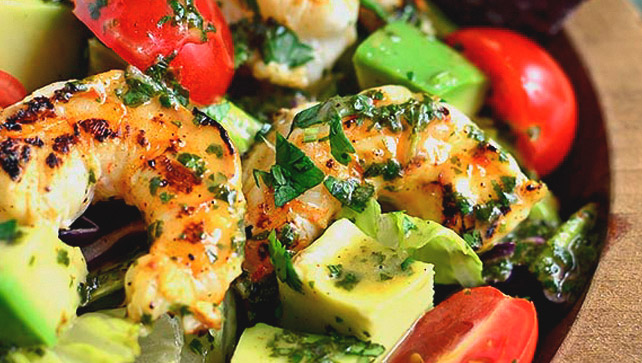 shrimo salad