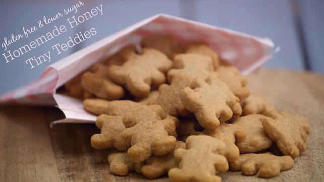 Homemade Honey Tiny Teddies