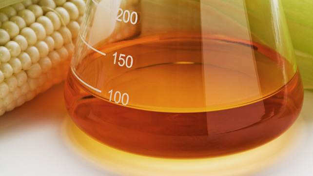 corn syrup in beaker