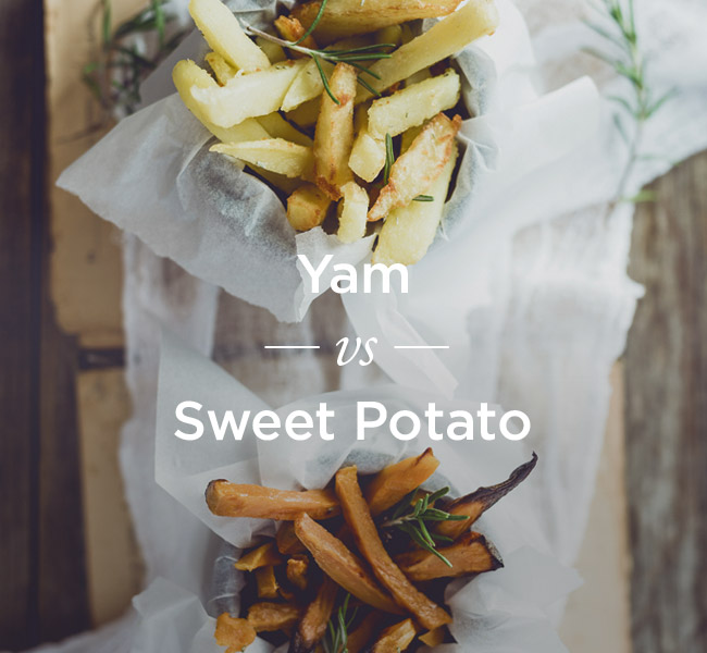 Yams vs Sweet Potato